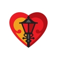 Holandaise Red Lights District Simplified Icon vector image
