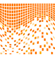 Wave mosaic vector image