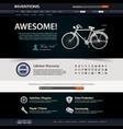 web design website element template a web design vector image vector image