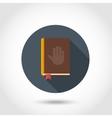 Bible flat icon vector image