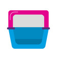 bird bath accessory for cage in flat style vector image vector image