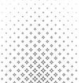 Black white curved star pattern background vector image vector image