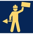 Builder icon from Basic Plain Icon Set vector image