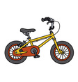 Child bike vector image vector image