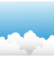 cloud set with sky landscape background