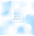 cold abstract background vector image vector image
