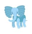Elephant Stylized Childish Drawing vector image vector image