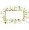 gold glitter confetti texture with plase for text vector image vector image