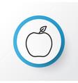 peach icon symbol premium quality isolated vector image vector image