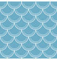 Seamless pattern with scale vector image vector image