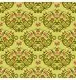 Spring bird flower heart seamless pattern vector image vector image
