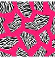 zebra seamless geometric pattern design colorful vector image