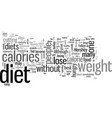 how to diet vector image vector image