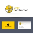 Logo construction Logo Template vector image