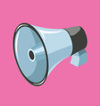 megaphone isometric vector image vector image