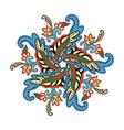 paisley garland vector image vector image