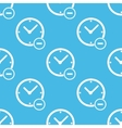 Reduce time pattern vector image vector image