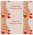 Seamless holiday theme pattern on Valentines Day vector image vector image