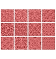 Seamless pattern collection vector image vector image
