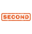 Second Rubber Stamp vector image vector image