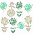 abstract floral seamless pattern it is lcoated in vector image