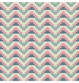 Abstract green pink pixel background vector image vector image