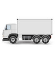 big truck tractor for transportation cargo vector image vector image