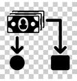 Cashflow Icon vector image