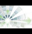 futuristic vector image vector image