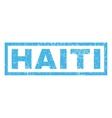 Haiti Rubber Stamp vector image
