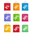 Sale labels like shopping bag vector | Price: 1 Credit (USD $1)
