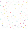 seamless pattern abstract falling confetti vector image