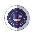 symbol american seal sign icon vector image vector image