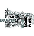 z fixed rate home equity loans text word cloud vector image vector image