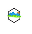 adventure icon vector image vector image
