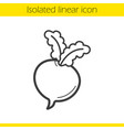 beet linear icon