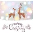 cute deer vector image vector image