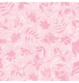 Exotic Pink Dawn Florals Seamless Pattern vector image vector image