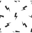 grey lightning bolt icon isolated seamless pattern vector image vector image