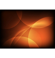orange abstract backgrounds vector image vector image