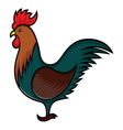 Rooster clip art resize vector image vector image