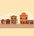 street wild west vector image