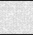 abstract cover black and gray line geometric vector image vector image