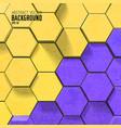 bright scientific mosaic background vector image vector image