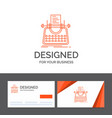 business logo template for article blog story vector image