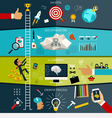 concept seo web searching creative process vector image