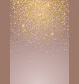 trendy sparkle design on pastel pink background vector image vector image