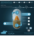 Vitamin A Pill Capsule Health And Medical vector image vector image