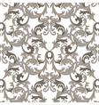 Damask Baroque Pattern vector image