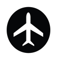 Airplane symbol icon vector image vector image